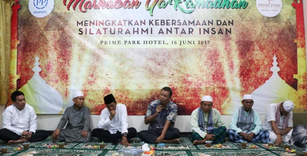 Breakfasting PRIME PARK Lombok