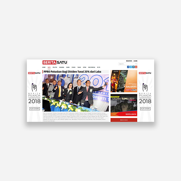 Beritasatu.com - PPRO Putuskan Bagi Dividen Tunai 20% dari Laba