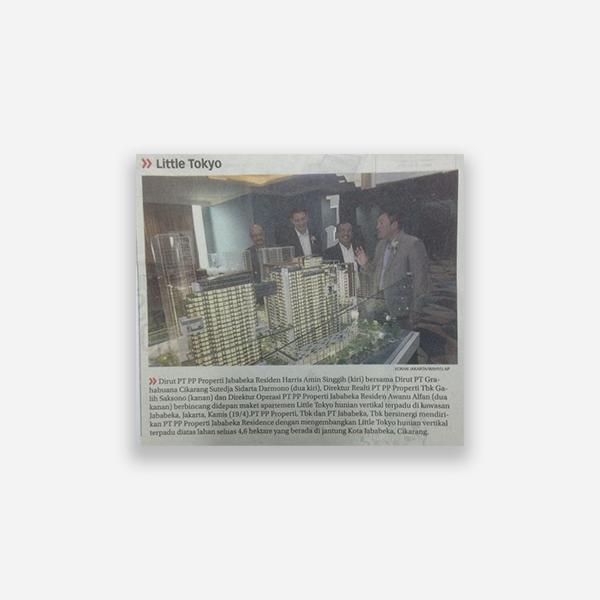 Koran Jakarta - Little Tokyo