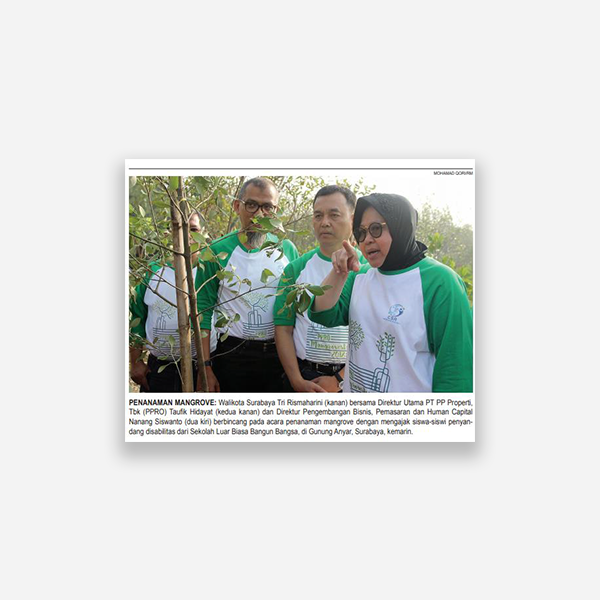 Rakyat Merdeka - Penanaman Mangrove
