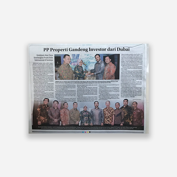lantaibursa.co.id - Properti di Surabaya Tetap Diminati Investor